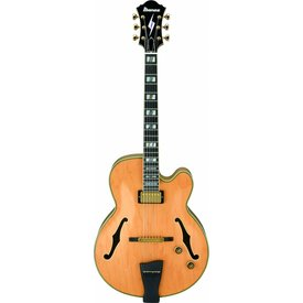 Ibanez Ibanez PM200NT Pat Metheny Signature Model Hollowbody Electric Natural w/Case