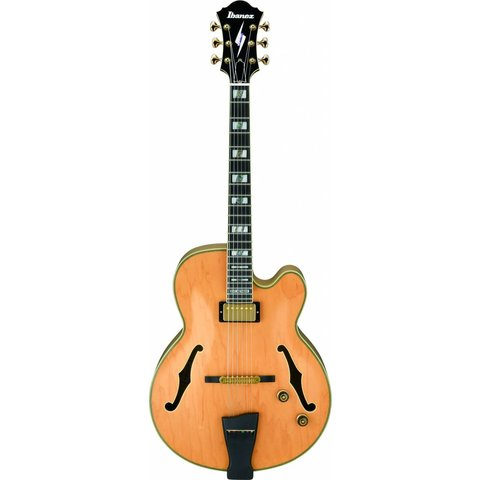 Ibanez PM200NT Pat Metheny Signature Model Hollowbody Electric Natural w/Case