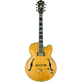 Ibanez Ibanez PM2AA Pat Metheny Signature Model Hollowbody Electric Guitar Antique Amber w/Case