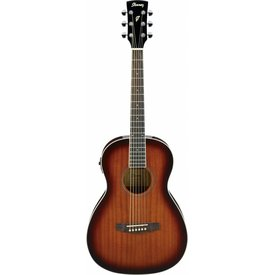 Ibanez Ibanez PN12EVMS Performance Acoustic Electric Parlor Guitar Natural Mahogany