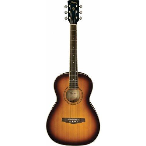 Ibanez PN15BS Performance Acoustic Parlor Guitar Vintage Sunburst