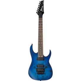 Ibanez Ibanez RG7420PBSBF RG 7-String Electric Guitar Flat Sapphire Blue