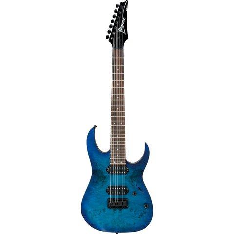 Ibanez RG7421PBSBF RG 7-String Electric Guitar Flat Sapphire Blue