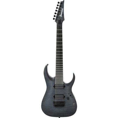 Ibanez RGAIX7FMTGF RGA Iron Label 7-String Electric Guitar Flat Transparent Grey