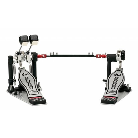 DW 9000 Series Double Pedal W/ Bag, Lefty