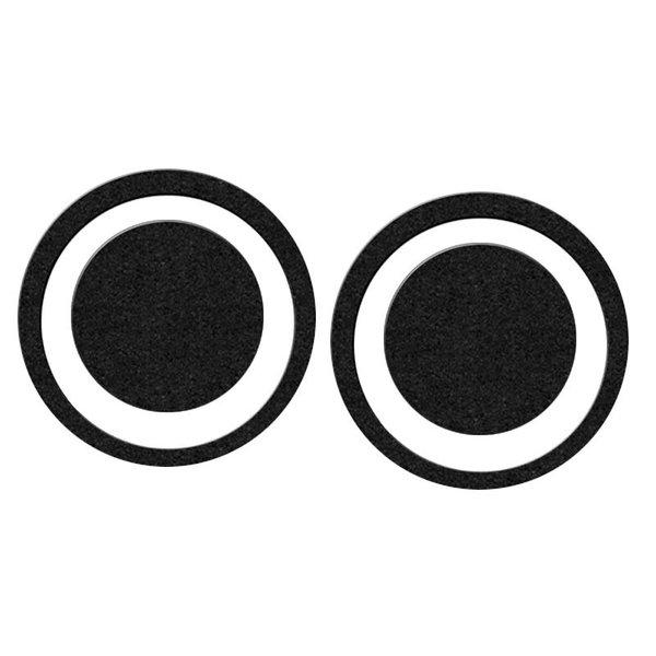 DW DW Black Eye Impact Pad, Pair