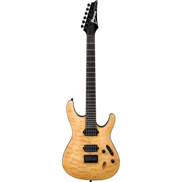 Ibanez Ibanez S621QMVNF S Series Electric Guitar Flat Vintage Quilted Maple