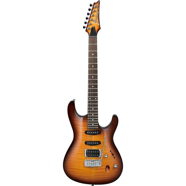 Ibanez Ibanez SA160FMBBT SA Electric Guitar Tremolo Brown Burst