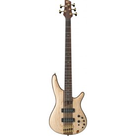 Ibanez Ibanez SR1305ENTF SR Soundgear Premium 5-String Electric Bass Natural Flat w/Bag
