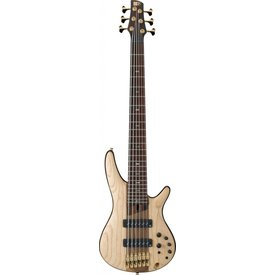 Ibanez Ibanez SR1306ENTF SR Soundgear Premium Electric 6-String Bass Guitar Natural Flat w/Bag
