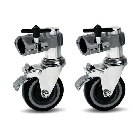 DW Rack Casters Single Brake (Pair)