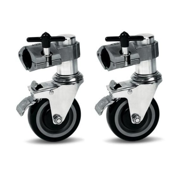 DW DW Rack Casters Single Brake (Pair)
