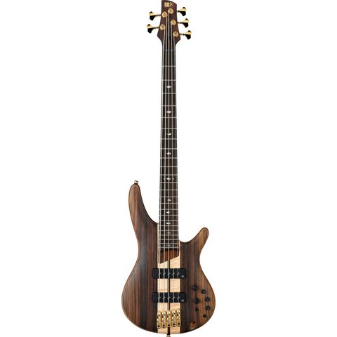 Ibanez SR1805ENTF SR Soundgear Premium 5-String Electric Bass Natural Flat w/Bag