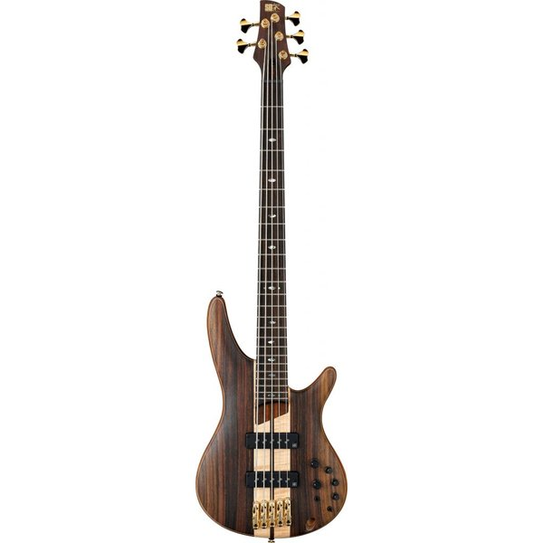 Ibanez Ibanez SR1805ENTF SR Soundgear Premium 5-String Electric Bass Natural Flat w/Bag