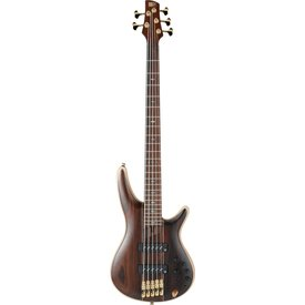 Ibanez Ibanez SR1905ENTL SR Soundgear Premium 5-String Electric Bass Guitar Natural Low Gloss w/Bag