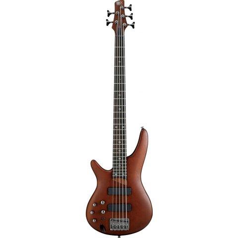 Ibanez SR505BML SR Soundgear Left-Handed 5-String Electric Bass Brown Mahogany