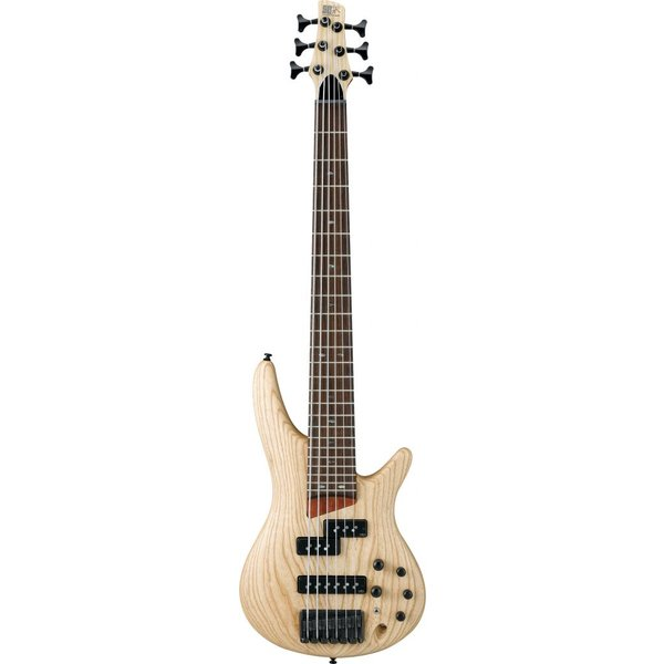 Ibanez Ibanez SR656NTF SR Soundgear 6-String Electric Bass Guitar Natural Flat