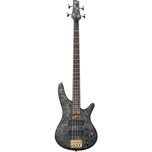 Ibanez Ibanez SR800BIF SR Soundgear Electric Bass Guitar Black Ice Flat