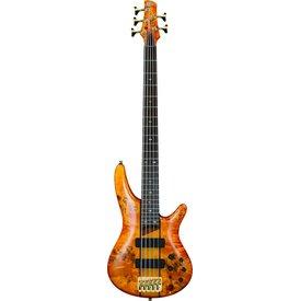 Ibanez Ibanez SR805AM SR Soundgear 5-String Electric Bass Guitar Amber