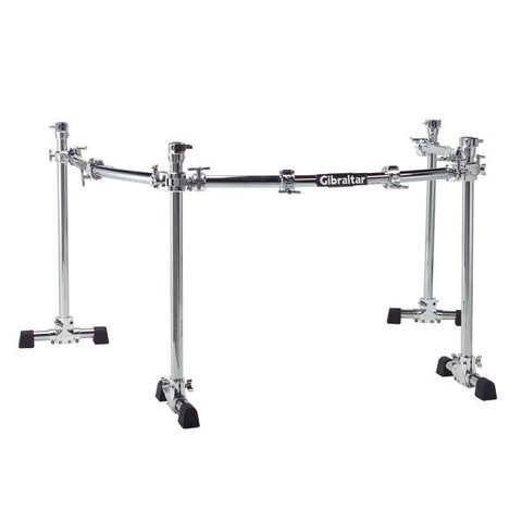 Gibraltar Chrome Series 4 Post Curve Rack
