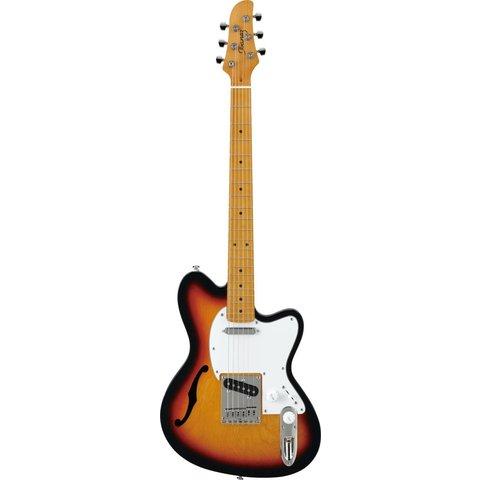 Ibanez TM302HMTFB Talman Semi-Hollowbody Electric Guitar Tri-Fade Burst