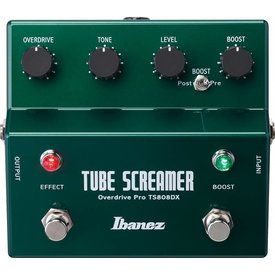Ibanez Ibanez TS808DX Vintage Tube Screamer Deluxe Pedal