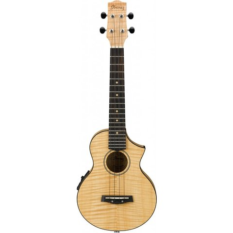 Ibanez UEW12E EW Concert Ukulele Flamed Maple