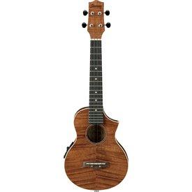Ibanez Ibanez UEW15E EW Concert Cutaway Ukulele Flamed Maple