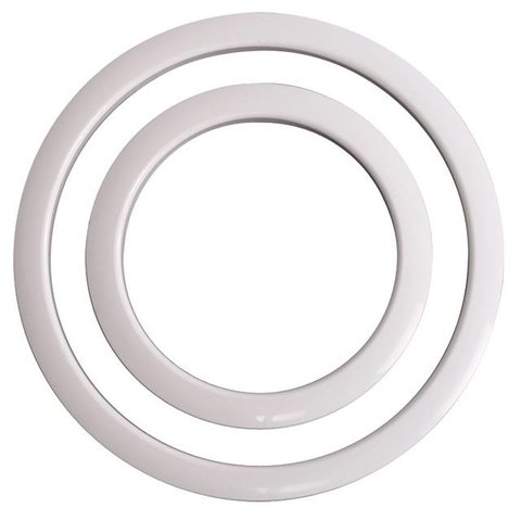Gibraltar Port Hole Protector 6'' White