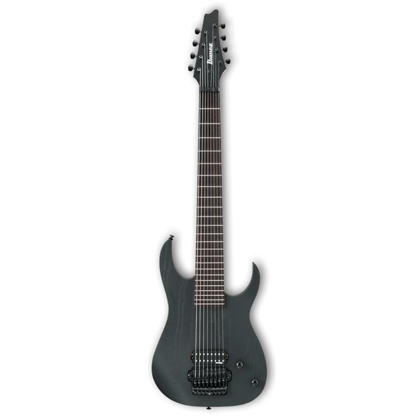 Ibanez Ibanez M80MWK Meshuggah Signature Model 8-String Electric Weathered Black w/Case