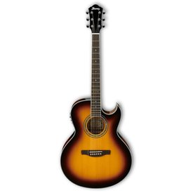 Ibanez Ibanez JSA5VB JSA Joe Satriani Signature Acoustic Electric Tobacco Sunburst