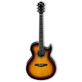 Ibanez Ibanez JSA20VB JSA Joe Satriani Signature Model Acoustic Tobacco Sunburst