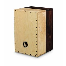 LP LP Americana Solid Black Walnut/Solid Hard Maple 2-Sided Cajon