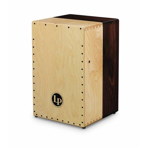 LP Americana Solid Black Walnut/Solid Hard Maple 2-Sided Cajon