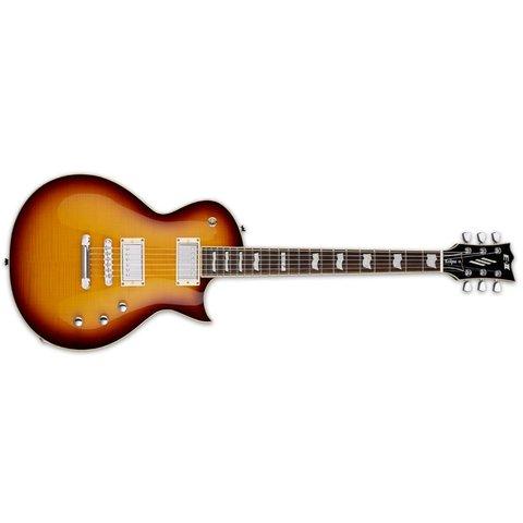ESP E-II Eclipse Electric Guitar Flamed Maple Tobacco Sunburst