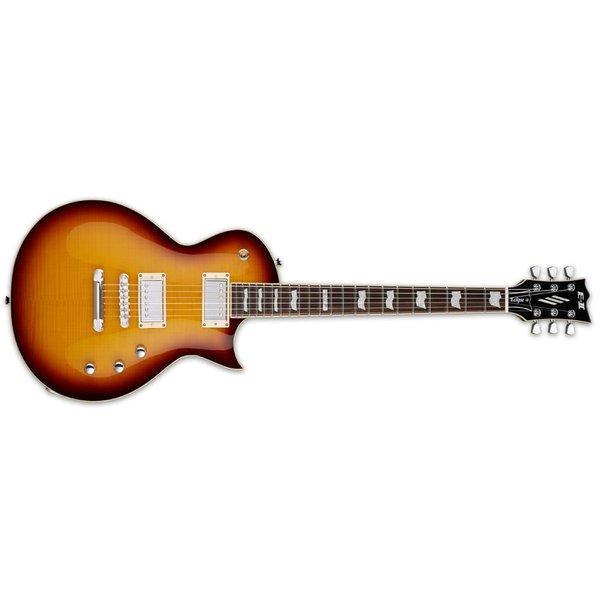 ESP ESP E-II Eclipse Electric Guitar Flamed Maple Tobacco Sunburst