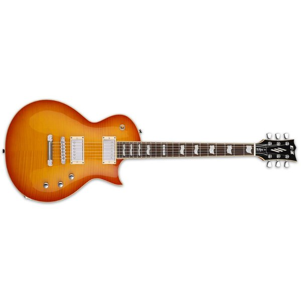 ESP ESP E-II Eclipse Electric Guitar Flamed Maple Vintage Honey Burst