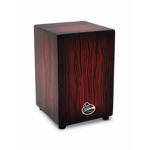 LP Aspire Accent Cajon Darkwood Streak
