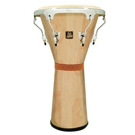 LP LP Aspire Djembe Large Wood Natural Chrome Hardware
