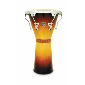 LP LP Aspire Djembe Large Wood Vintage Sunburst Chrome Hardware