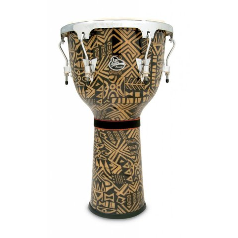 LP Aspire Djembe Serengeti Fabric Chrome Hardware