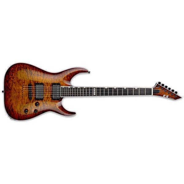 ESP ESP E-II Horizon Neck-Thru Electric Guitar Tiger Eye Sunburst