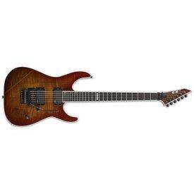 ESP ESP E-II M-II Electric Guitar, Flamed Maple Amber Cherry Sunburst