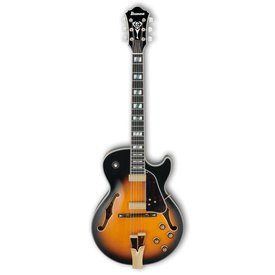 Ibanez Ibanez GB10SEBS George Benson Signature Model Hollowbody Brown Sunburst w/ Case
