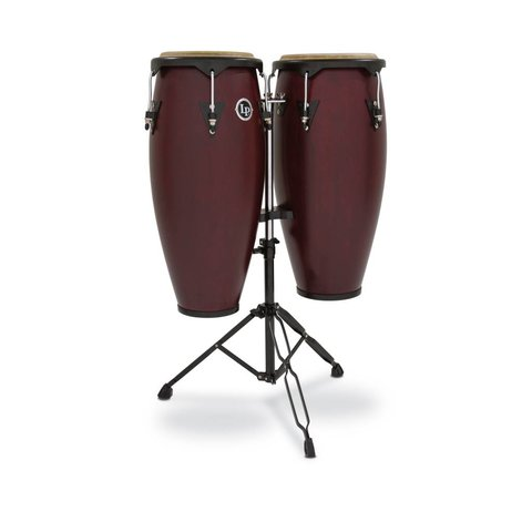 "LP City 10"" & 11"" Conga Set - Dark Wood"