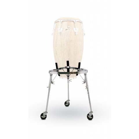 LP Collapsible Conga Cradle Stand w/ Legs & Caster