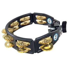LP LP Cyclops Brass Mountable Tambourine Black