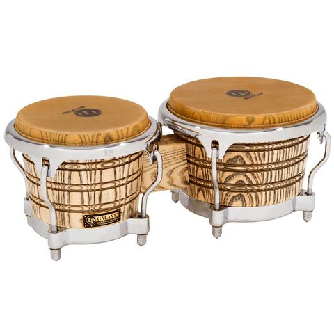 LP Galaxy Giovanni Series Bongos Chrome Hardware