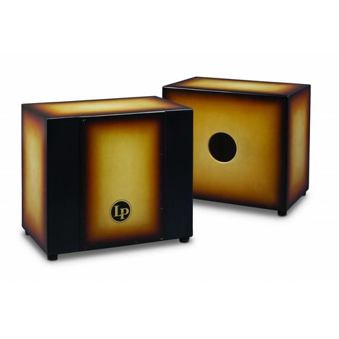 LP Matador Triple Percussion Cajon, Vintage Sunburst