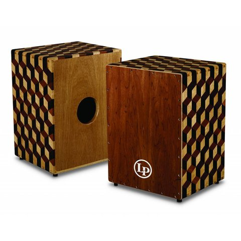 LP Peruvian Solid Wood Brick Cajon w/ Bag